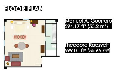 Floor Plan - Suite Deluxe